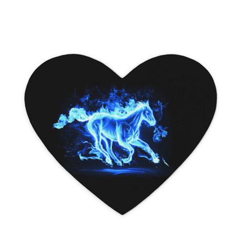 Коврик для мыши сердце  Фото 01, Ледяной конь