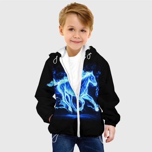Детская куртка 3D  Фото 03, Ледяной конь