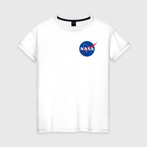 Женская футболка хлопок NASA Фото 01