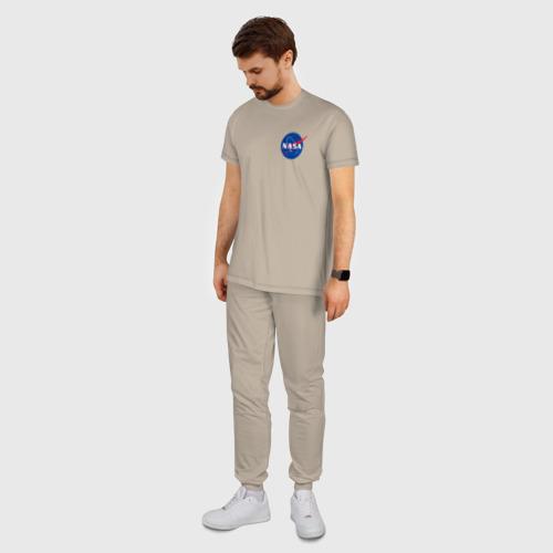 Мужская пижама хлопок NASA Фото 01