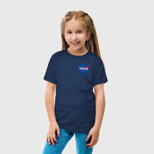 Детская футболка хлопок NASA Фото 01