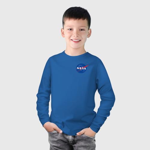 Детский лонгслив хлопок NASA Фото 01