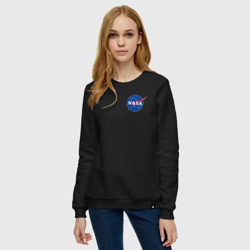 Женский свитшот хлопок NASA Фото 01