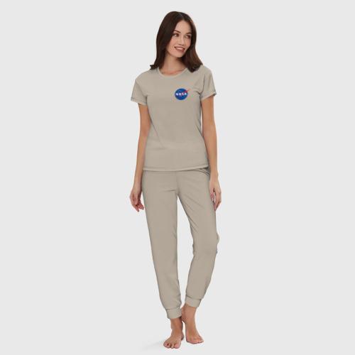 Женская пижама хлопок NASA Фото 01