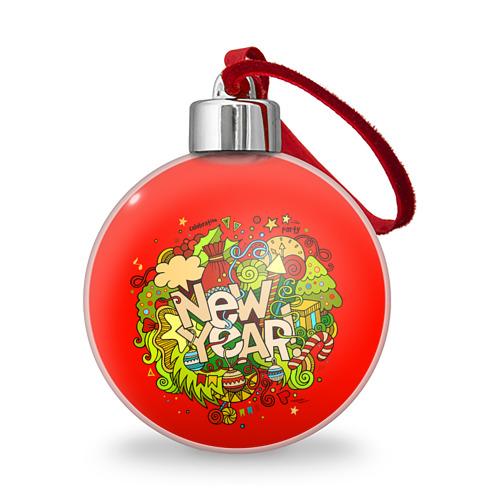 Ёлочный шар New Year от Всемайки