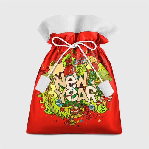 Подарочный 3D мешок New Year от Всемайки