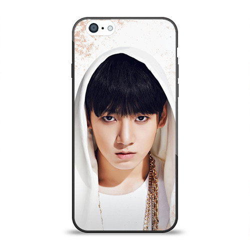 Чехол для Apple iPhone 6 силиконовый глянцевый Jeon Jung Kook от Всемайки