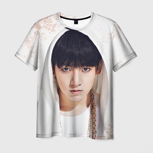 Мужская футболка 3D Jeon Jung Kook