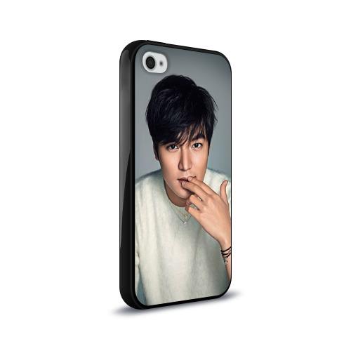 Чехол для Apple iPhone 4/4S силиконовый глянцевый  Фото 02, LEE MIN HO