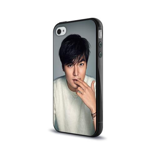 Чехол для Apple iPhone 4/4S силиконовый глянцевый  Фото 03, LEE MIN HO