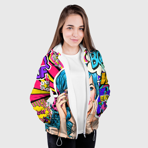 Женская куртка 3D  Фото 04, Pop art