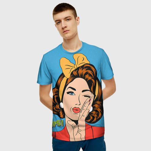 Мужская футболка 3D POP ART Фото 01