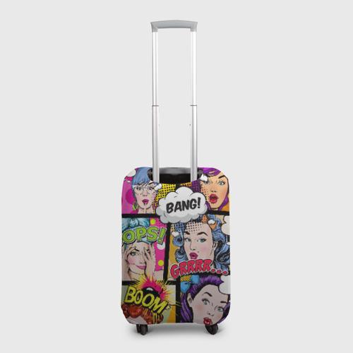 Чехол для чемодана 3D POP ART Фото 01