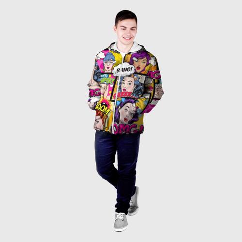 Мужская куртка 3D  Фото 03, POP ART