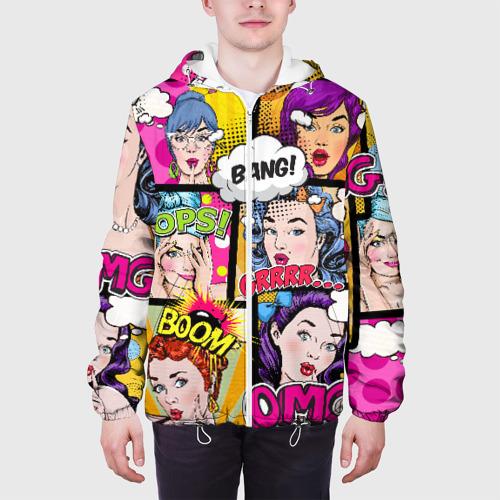 Мужская куртка 3D  Фото 04, POP ART