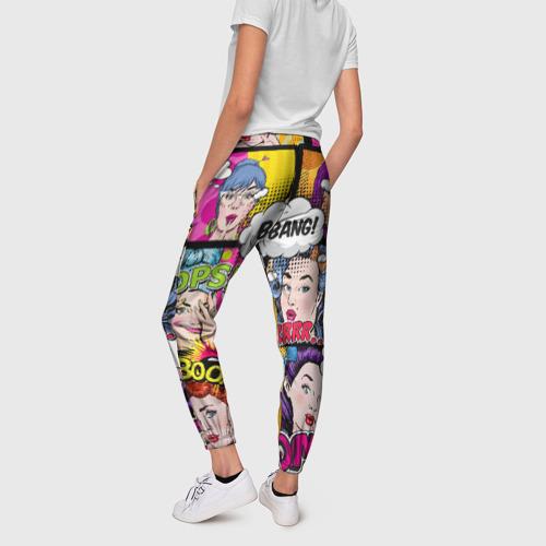 Женские брюки 3D POP ART Фото 01