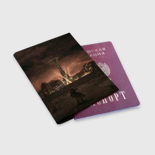 Обложка для паспорта матовая кожа  Фото 03, Fallout: New Vegas