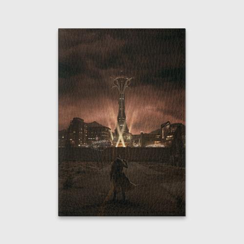 Обложка для паспорта матовая кожа  Фото 01, Fallout: New Vegas
