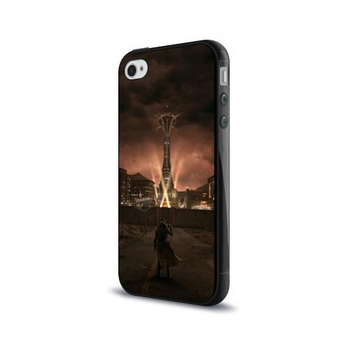 Чехол для Apple iPhone 4/4S силиконовый глянцевый  Фото 03, Fallout: New Vegas