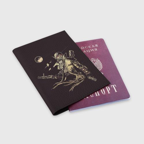 Обложка для паспорта матовая кожа  Фото 03, Рейнджер-ветеран НКР