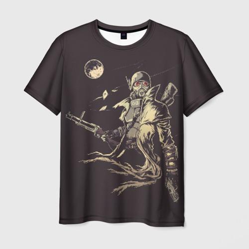 Мужская футболка 3D  Фото 03, Рейнджер-ветеран НКР