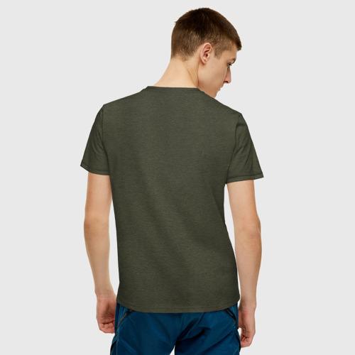 Мужская футболка хлопок Танк Т-34 Фото 01