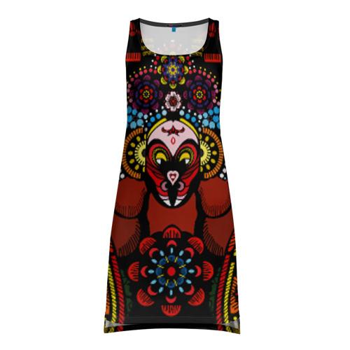 Платье-майка 3D D1