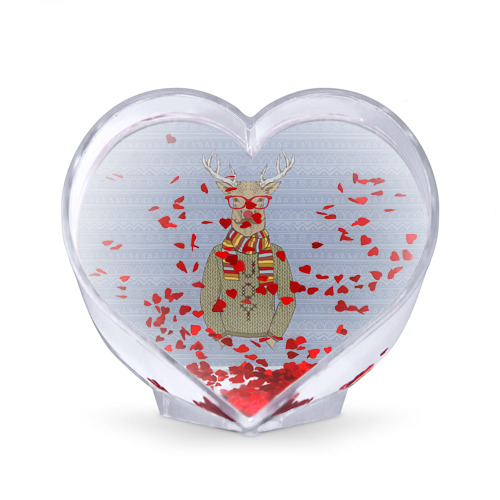 Сувенир Сердце  Фото 02, Олень