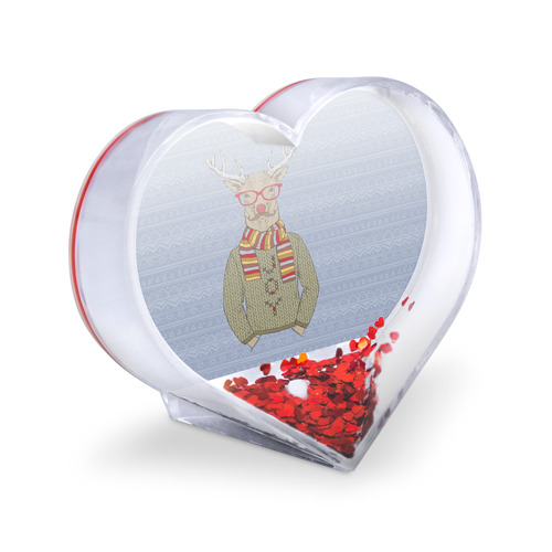 Сувенир Сердце  Фото 03, Олень