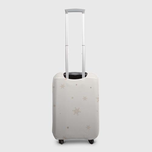 Чехол для чемодана 3D Пингвин с шариком Фото 01