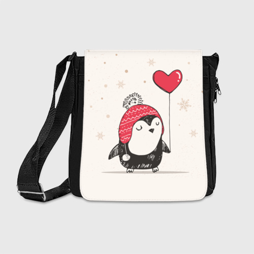 Сумка через плечо Пингвин с шариком Фото 01
