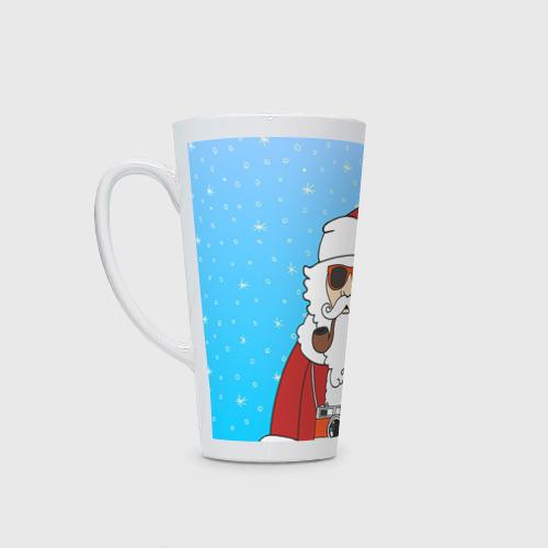 Кружка Латте Дед мороз от Всемайки