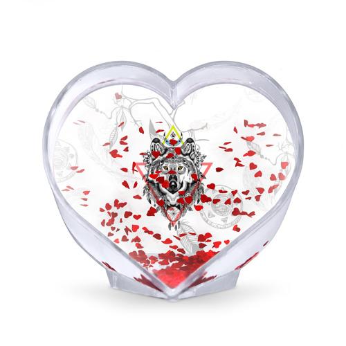 Сувенир Сердце  Фото 02, Волк