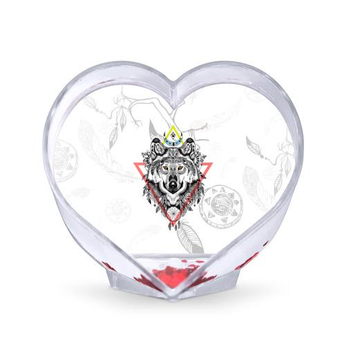 Сувенир Сердце  Фото 01, Волк