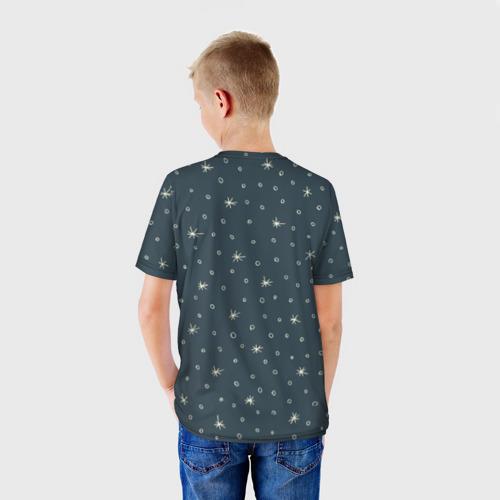 Детская футболка 3D Санта хипстер Фото 01