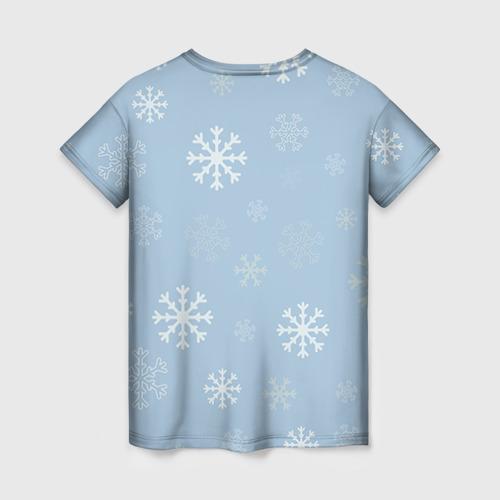 Женская футболка 3D Олень Фото 01