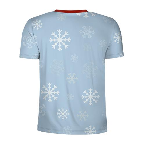 Мужская футболка 3D спортивная Олень Фото 01