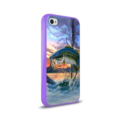 Чехол для Apple iPhone 4/4S силиконовый глянцевый  Фото 02, Рыба