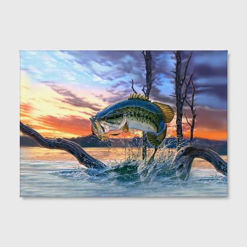 Холст прямоугольный  Фото 02, Рыба