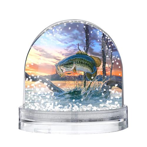 Водяной шар со снегом Рыба