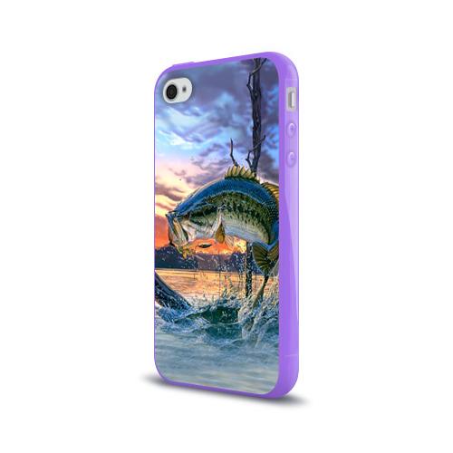 Чехол для Apple iPhone 4/4S силиконовый глянцевый  Фото 03, Рыба