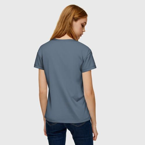 Женская футболка 3D Щука Фото 01