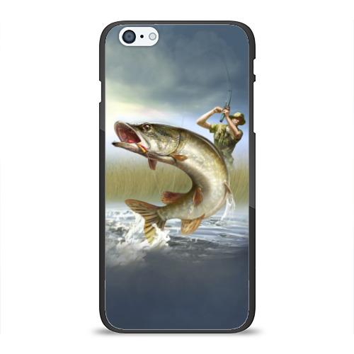 Чехол для iPhone 6Plus/6S Plus глянцевый Щука Фото 01