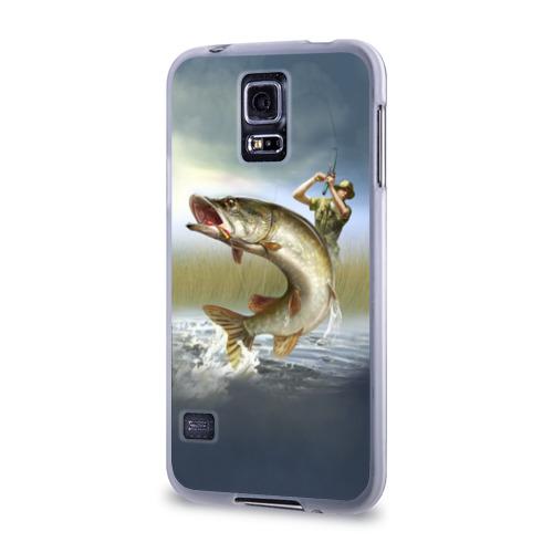 Чехол для Samsung Galaxy S5 силиконовый Щука Фото 01
