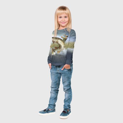 Детский лонгслив 3D  Фото 04, Щука