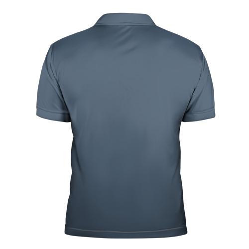Мужская рубашка поло 3D Щука Фото 01
