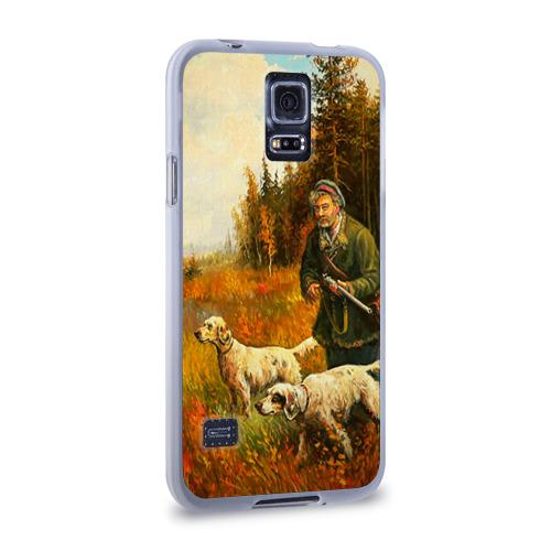 Чехол для Samsung Galaxy S5 силиконовый  Фото 02, Охота