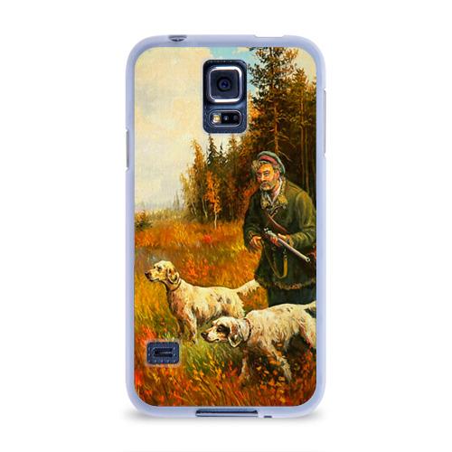 Чехол для Samsung Galaxy S5 силиконовый  Фото 01, Охота