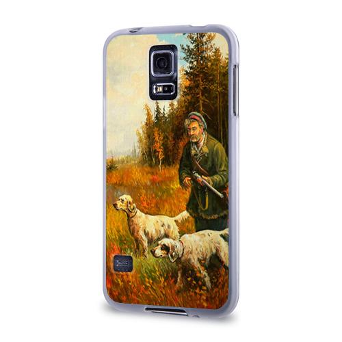 Чехол для Samsung Galaxy S5 силиконовый  Фото 03, Охота