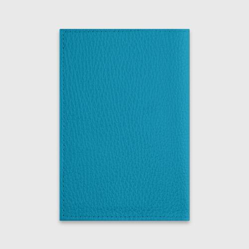 Обложка для паспорта матовая кожа  Фото 02, Заяц с подарком